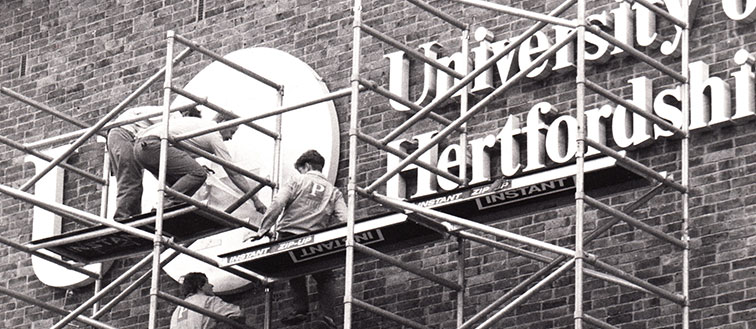 Early Stage of University of Hertfordshire